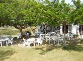 restaurante con jardín en menorca