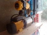 Instalación de bombas de presión en mahon
