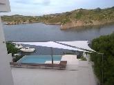 toldos en forma de vela en Menorca