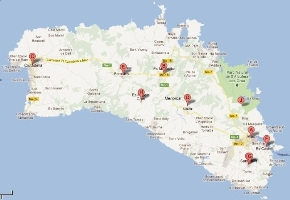 mapa oficinas de correos
