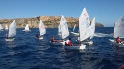 76 inscritos en el Campeonato de Baleares de Optimist que organiza Club Marítimo de Mahón