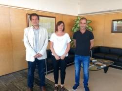 El Consell Insular de Menorca firma el contrato de obras de la mejora del nudo de acceso a Alaior desde la carretera general