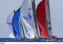 Quantum comprime la general tras el tercer día de regatas en la Menorca 52 Super Series Sailing Week