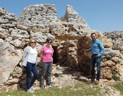 El Ayuntamiento de Maó reafirma su apoyo en las excavaciones de Cornia Nou