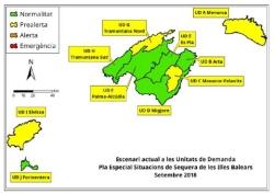 LAS RESERVAS HIDRICAS DE LAS ISLAS SUBEN DEL 52 AL 56 % EN SEPTIEMBRE
