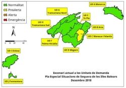 Las reservas hídricas de las Islas crecen un 4%