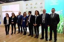 La presidenta defensa la gastronomía como gran activo en la WTM