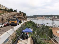 L'Ajuntament de Maó escomet la reparació del col·lector de s'Hort d'es Frares