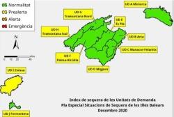 Las reservas hídricas de las Islas Baleares se sitúan en el 62 %