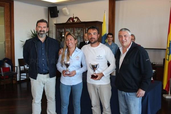 TERCER CLASIFICADO CAMPEONATO DE BALEARES DE SNIPES. HUGO RAMóN Y NATALIA CELIA DíAZ