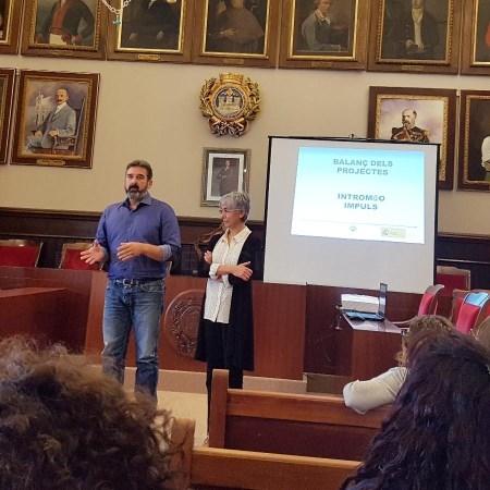 Presentació de les actuacions dels projectes mixtos d'ocupació i formació IMPULS i INTROMAÓ