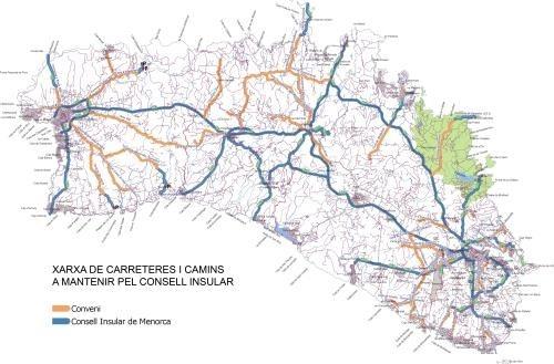 El Consell Insular de Menorca adjudica el nuevo contrato de mantenimiento de carreteras y caminos municipales