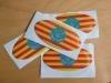 El Consell pone a disposición de toda la ciudadanía adhesivos para los coches con la bandera de Menorca