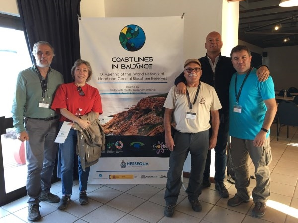 Menorca asiste al IX Congreso Mundial de la Red de Reservas de Biosfera Islas y Zonas Costeras (WNICBR) en Sudáfrica