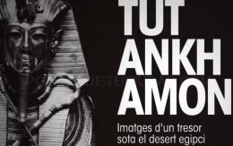 """Darrera visita guiada a l'exposició """"Tutankhamon, imatges d'un tresor sota el desert egipci"""", amb inscripció prèvia."""