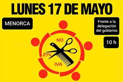 Continuan las reivindicaciones de los salones de peluquería y estética en España con una nueva jornada de protesta en más de 70 localizaciones
