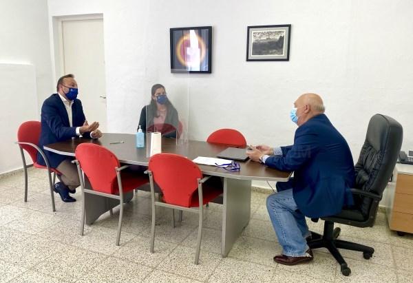 José Luis Benejam se reúne con el Juez de Paz