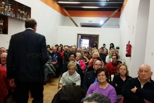 Inauguración de la Escuela de abuelos y abuelas en Sevilla la Nueva