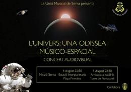 """""""L'UNIVERS: UNA ODISSEA MÚSICO-ESPACIAL"""""""