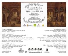 GRAN FESTA DEL DUX EN RIBA-ROJA DE TúRIA