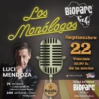 ESTE VIERNES 22 LUCI MENDOZA EN LOS  MONóLOGOS DE BIOPARC CAFé