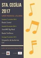 LA UNIó MUSICAL DE L'ELIANA CELEBRARá LOS ACTOS EN HONOR A SANTA CECILIA DURANTE DOS FINES DE SEMANA