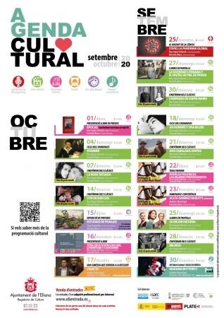 La Concejalía de Cultura hace pública la programación hasta finales de octubre