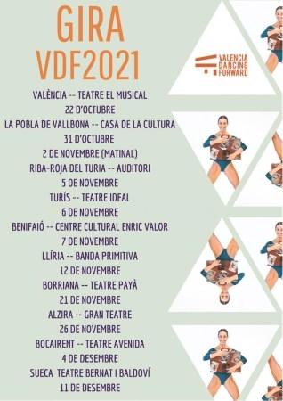 ESTRENO ABSOLUTO y PROGRAMACIÓN Gira VDF2021