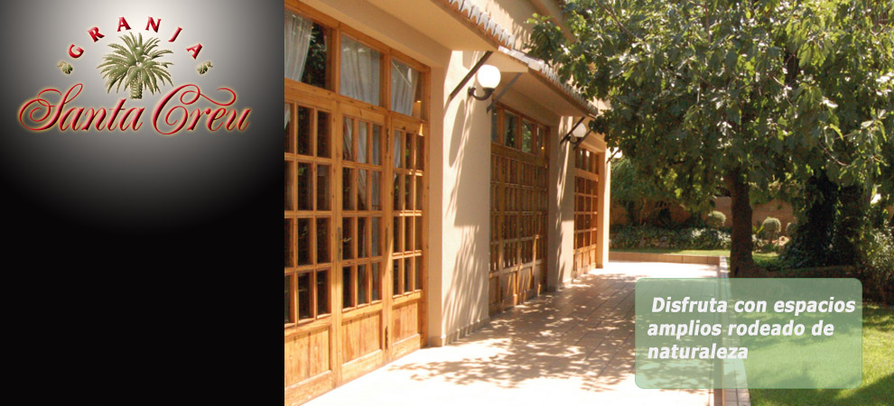 Restaurante con salones privados cerca de Valencia, salones para bodas y comuniones en l'ELIANA