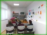 Sala de audiovisuales para enfermos de Alzheimer y otras demencias,  asociación de alzheimer