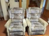 tapizado de sillones relax, tapicero en riba-roja