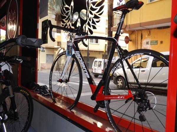 Servicios en bicicletas