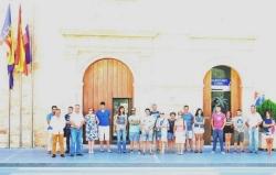 Llíria se une en memoria de las víctimas del terremoto de Italia