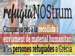 L'Eliana arreplegarà aliments i donatius per a refugiats que fugen de la guerra a Síria amb la campanya 'RefugiaNOStrum'