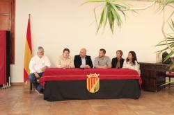 Presentación del I Encuentro Nacional Frontenis Femenino a Nàquera