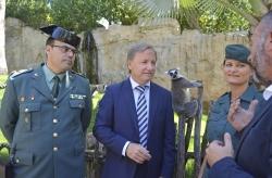 BIOPARC Valencia acoge un Lémur Catta incautado por la Guardia Civil