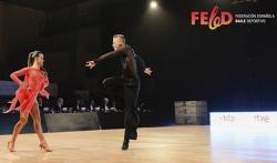 Finalizan los campeonatos de España de Baile Deportivo disputados en l'Eliana, con un gran nivel de competición