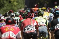 Llíria, a punto para dar la salida de la séptima etapa de La Vuelta 2017