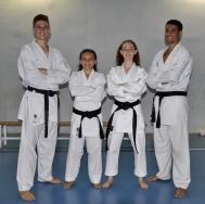 Cuatro karatekas de la Escuela Municipal de L`Eliana competirán en el Campeonato del Mundo de Shotokan