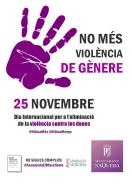 Náquera se une contra la violencia de género