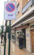Entran en vigor las nuevas señales de ordenación del aparcamiento durante las celebraciones y festividades en L`Eliana