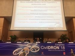 La Generalitat participa en el congreso nacional Civildron para hablar de la aplicación de los drones en emergencias