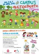Vuelve el Campus Multideporte de Pascua a L'Eliana