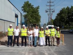 Inician el soterramiento de las líneas eléctricas del polígono Pla de Rascanya en Lliria