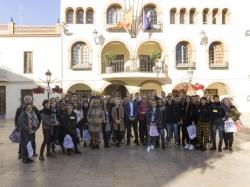 L'Eliana acoge 20 estudiantes europeos del programa Erasmus+