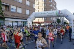Más de 300 aficionados al running participan en el XVI Gran Fons de Llíria
