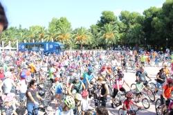 Més de 960 persones gaudeixen del Ciclopasseig Vila de l'Eliana