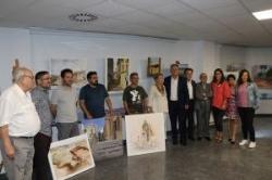 """Gonzalo Romero logra el primer premio del Concurso de Pintura Rápida """"José Manaut"""" 2019 en Lliria"""