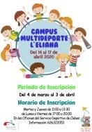 El Campus Multideporte de Pascua cumple 10 años apostando por los valores y la conciliación familiar