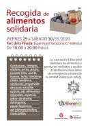 L'ElianaVol organiza una campaña de recogida de alimentos para este fin de semana